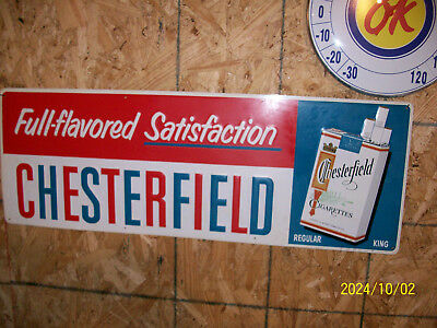 Chesterfield Cigarette SIgn NOS