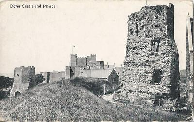Dover Castle And Pharos