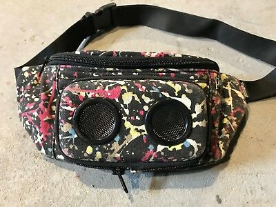 Jammypack USB Powered Fanny Pack With Speakers for Smart Phones