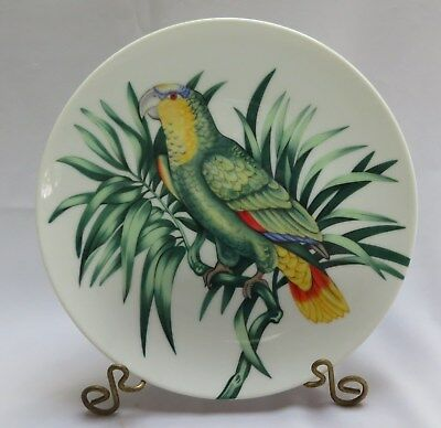 Fitz And Floyd 'Perroquet'  Parrot Porcelain Collector Plate