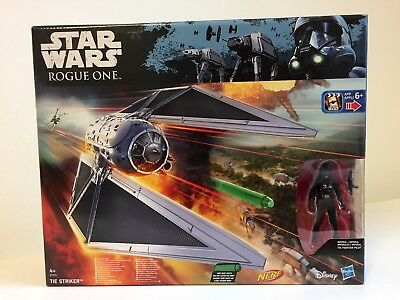 TIE STRIKER with IMPERIAL TIE FIGHTER PILOT (Rogue One/2016/Hasbro/Nerf) B7105