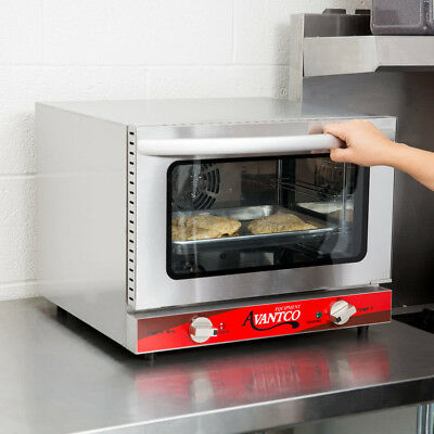 Avantco 1/4 Size Commercial Electric Convection Oven Countertop Pizza Restaurant