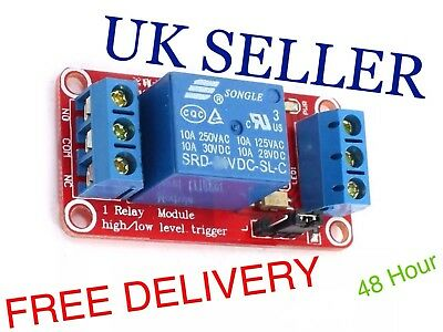 5V OR 12V OR 24V 1 Channel Relay Module Board With high/low trigger