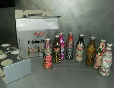Coca Cola Light Tribute To Fashion giftbox 2009 La Rinascente collezione raro