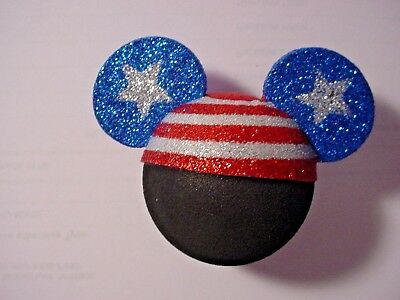 Disney  Patriotic Mickey Head with Stars Antenna topper
