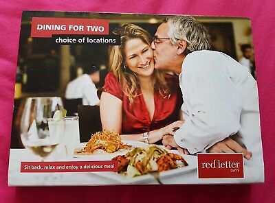 Red Letter Days Dining for Two Voucher
