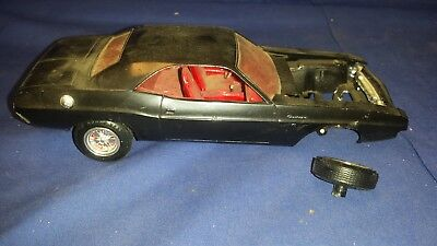 vintage MPC Dodge CHALLENGER R/T Model Kit FOR PARTS  MOPAR shipping included