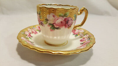Minton Tea Cup and Saucer - Nathan Dohrmann - San Francisco - Numbered G9085