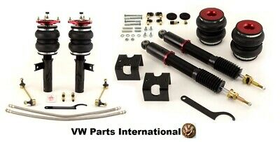 VW Jetta MK6 Air Lift Front Rear Performance Suspension Struts Kit Bags Airlift