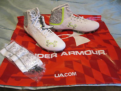 NEW Under Armour BANSHEE Mid MC Football/LaCrosse Molded Cleats 12 FREE SHIPPING