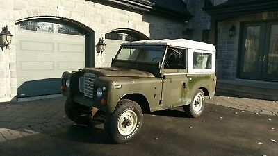 Land Rover: Defender truck Land Rover: Defender 1974 Land Rover Series III 3 Restoration