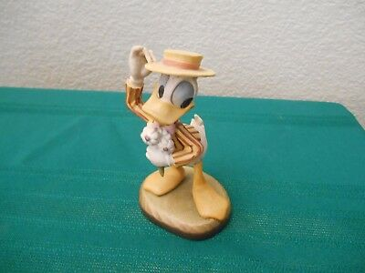 Anri, Hand Carved Wooden Figurine, Disney's Donald Duck