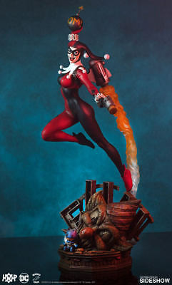 Tweeterhead Harley Quinn Super Powers DC Comics Maquette Statue NEW In Stock