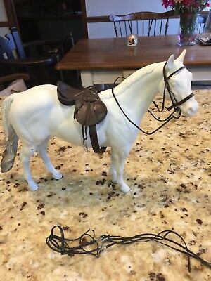 Traditional CM OOAK Breyer/Peter stone english Saddle, two bridles