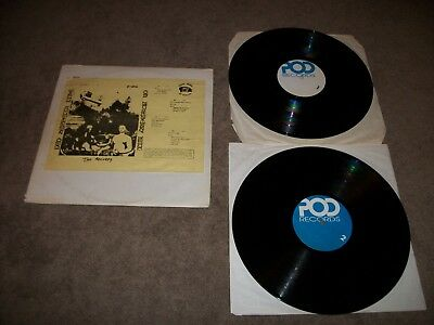 Led Zeppelin 2 LP RECORD SET  Live On Blueberry Hill POD RECORDS - RARE SET