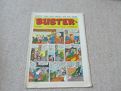 BUSTER COMIC- 12th Sept 1970, good condition-Beano