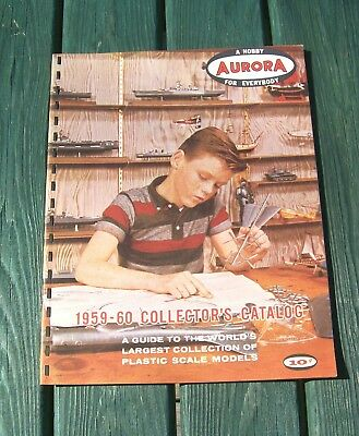 Original 1959 Aurora Model Toy Catalog plus Revell and Gilbert Nice Graphics!