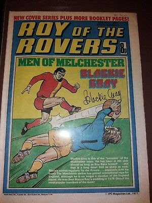 Roy of the Rovers Men of Manchester Blackie Gray 1977