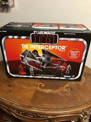 star wars return of the jedi Tie Interceptor 2013 New In Unopened Box