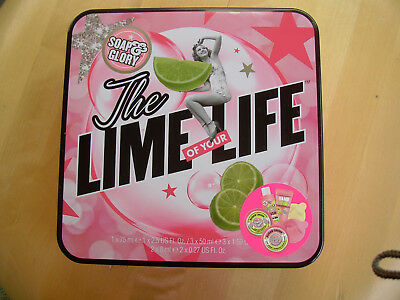 Soap&Glory The LIme of your Life Gift set Tin+6 items Sugar Crush Mothers Day