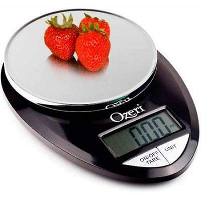 Ozeri Pro Digital Kitchen Food Scale, 1g to 12 lbs Capacity, Black NEW