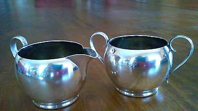 200G Sterling Silver Gorham 393 Creamer 392 Cover Less Sugar Excellent Condition