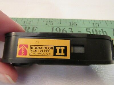 vintage Kodak Kodacolor II C 110 film unsure if exposed or not, undeveloped roll