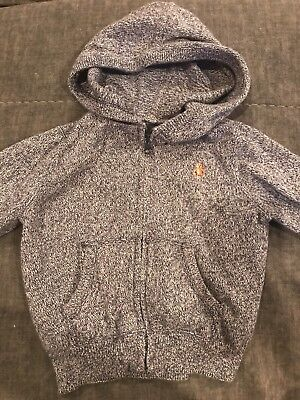 Boys Baby Gap Hooded Zip Up Sweater 12-18 Months