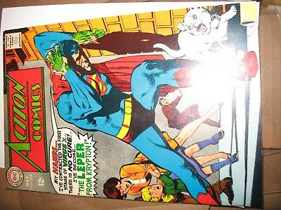 Action Comics #363 NM- 9.2 Adams Cover.