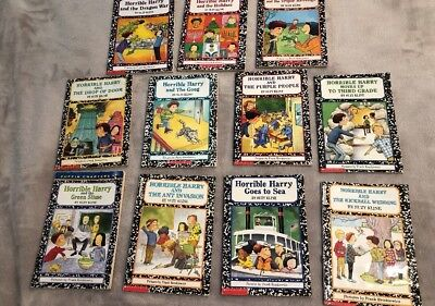 Lot 11 Horrible Harry Early Chapter Books Classroom Library