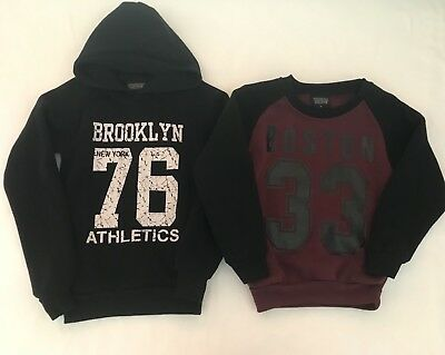 2x Boys Size 6 Jumpers