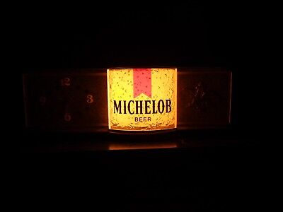 Michelob Clock And Light
