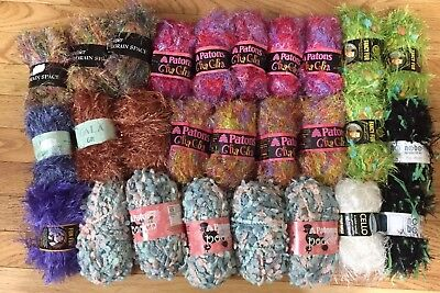 Large mixed lot of yarn