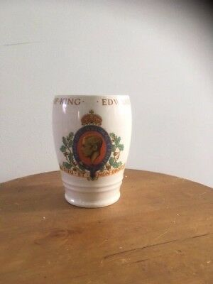 Vintage Royal Memorabilia Cup/Mug - King Edward VIII Coronation