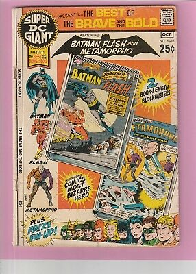 Super DC Giant Presents the Best of the Brave and the Bold #S-16 Batman Flash