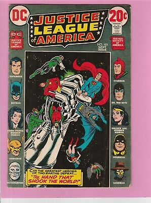 Justice League of America #101 Wonder Woman Superman Green Lantern