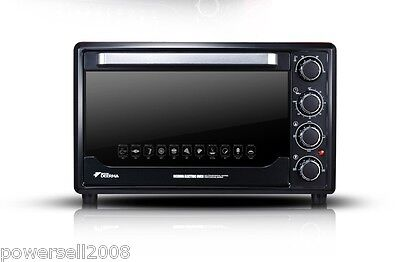 New Black 180°Rotation Household Multifunctional Baking Oven Kitchen Appliances