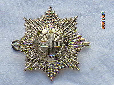 Coldstream Guards, BERET BADGE, England, Guard, Anodised Aluminium Staybright