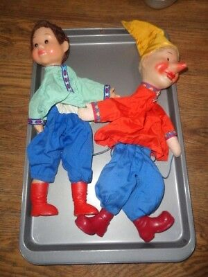 Vintage Puppets - Plastic heads, hands and feet