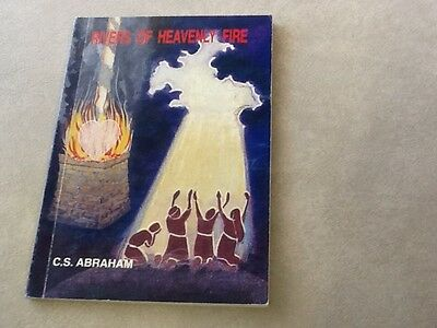 Rivers of Heavenly Fire, C.S.Abraham, signed book, small paperback