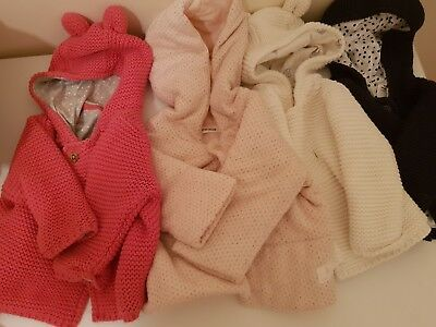 4 Newborn jackets Mark and Spencer M&S, Country Road