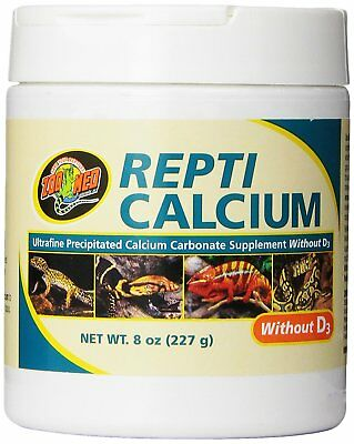 Zoo Med Repti Calcium Without D3 227 G