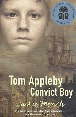 Tom Appleby Convict Boy by Jackie French Paperback Book Free Shipping!