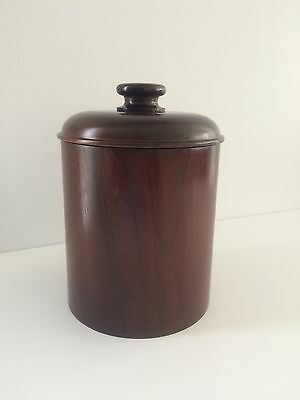 Wooden Ice Bucket with Plastic Insert and Lid, Gift for Father, Dad and Men