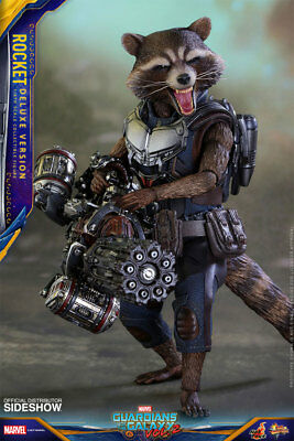 GUARDIANS of the GALAXY 2: ROCKET RACOON DELUXE 1/6 Action Figure 12″ HOT TOYS
