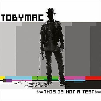 Toby Mac - This Is Not a Test - CD Album Damaged Case