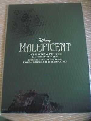 Disney Maleficent limited edition Lithograph set 3000