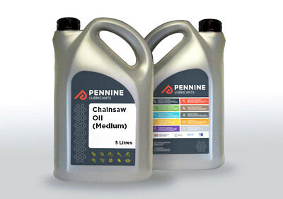 Pennine Chainsaw Oil Medium 5 Litre *FREE DELIVERY*
