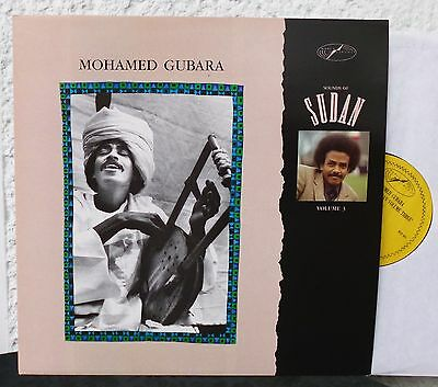 MOHAMED GUBARA - Sounds Of Sudan Volume 3       World Circuit LP