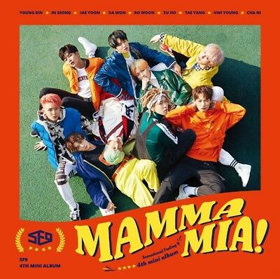 K-POP SF9 4th Mini Album [MAMMA MIA!] CD+Cover+64p Booklet+2p Photocard Sealed